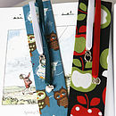 Apple Or Owl Bookmark, Teachers Gift