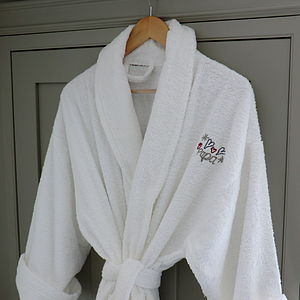 Personalised Bath Robe