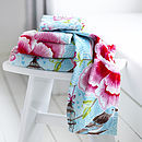 Birds Of Paradise Hand Towels By PiP Studio