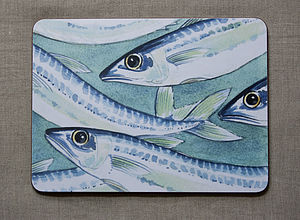 Set Of Four Fish Tablemats - placemats & coasters