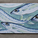 Set Of Four Fish Tablemats