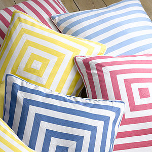 Deck Stripe Cushion Cover - bedroom