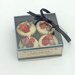 Four aromatherapy bath melts - gift sets