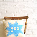 Yes And No Cushion