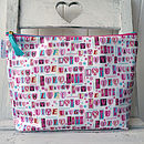 Luxury Wash Bag Live Life Print