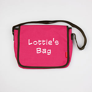 Personalised Child's Messenger Bag - bags, purses & wallets