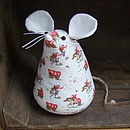 Doormouse Doorstop