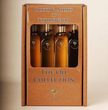 Oil Collection Quad Gift Set