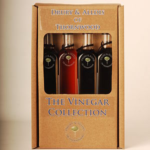 Vinegar Collection Quad Gift Set - tasting sets