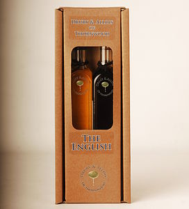 English Oil And Vinegar Gift Set - sauces & seasonings