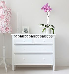 French Style Chest Of Drawers - chests of drawers