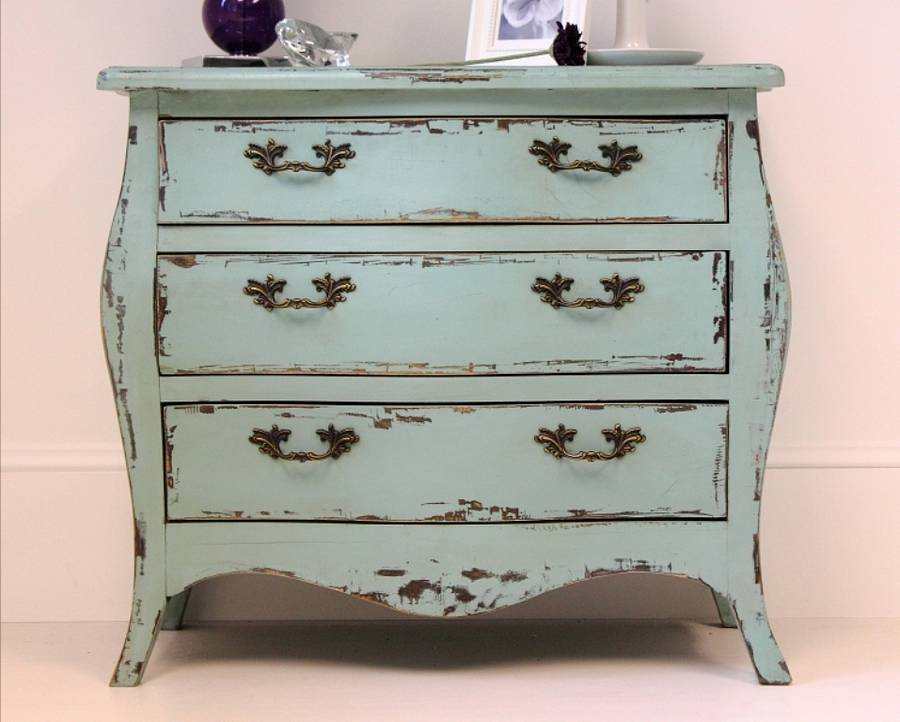 Turquoise Chest Of Drawers By Out There Interiors