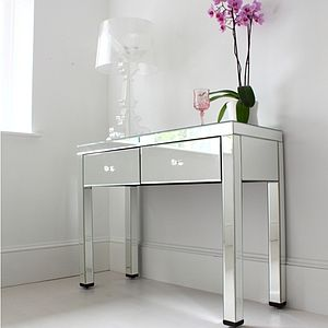 Mirrored Dressing Table - bedroom