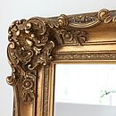 Antique Style Wooden Mirror