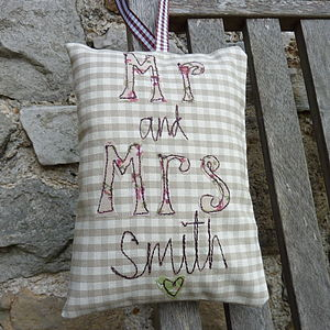 Personalised Wedding Hanging Decorations
