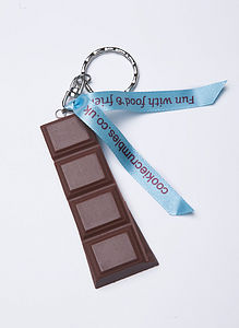 Milk Chocolate Bar Keyring