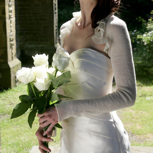 Foxglove Shrug - wedding fashion