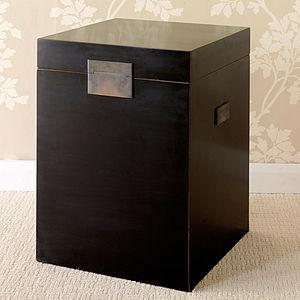 Oriental Lacquer Trunk - furniture