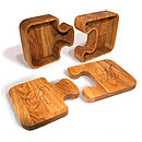 Jigsaw Boxes Solid Oak Personalised Gift Boxes from Cleancut Wood 2