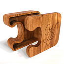 Jigsaw Boxes Solid Oak Personalised Gift Boxes from Cleancut Wood 5
