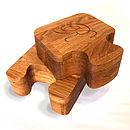 Jigsaw Boxes Solid Oak Personalised Gift Boxes from Cleancut Wood 6