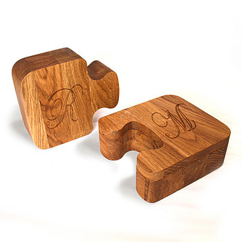 Jigsaw Boxes Solid Oak Personalised Gift Boxes from Cleancut Wood 7