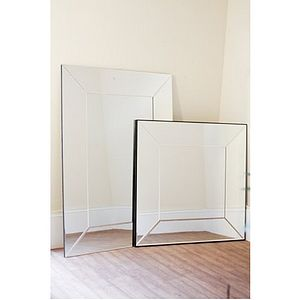 Gatsby Art Deco Bevelled Mirror - mirrors