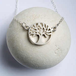 Personalised Tree Necklace - necklaces & pendants