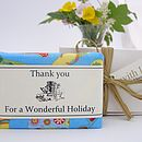 'Summer Holiday' Fabric Wrapped Soap