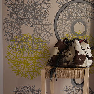Hepworth Hand Printed Wallpaper - home decorating