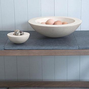 Bath Stone Bowl