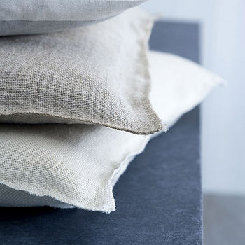 Elham Selvedge Edge Cushion