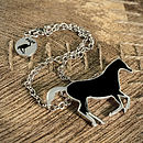 Horse Chain Necklace
