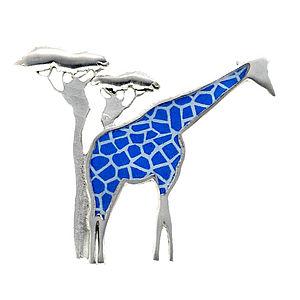 Giraffe Brooch - women's jewellery
