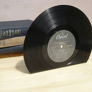 Vinyl Record 10 Inch Bookends Medium