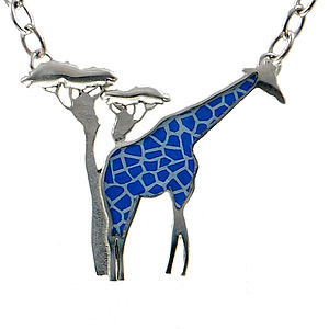 Giraffe Chain Necklace