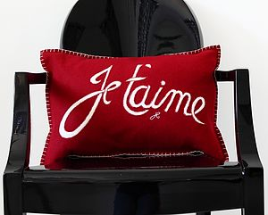 'Je T'aime' Cushion