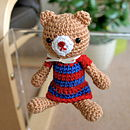 Lucy The Handmade Amigurumi Bear