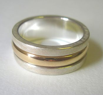 Personalised Sentiment Spinning Ring