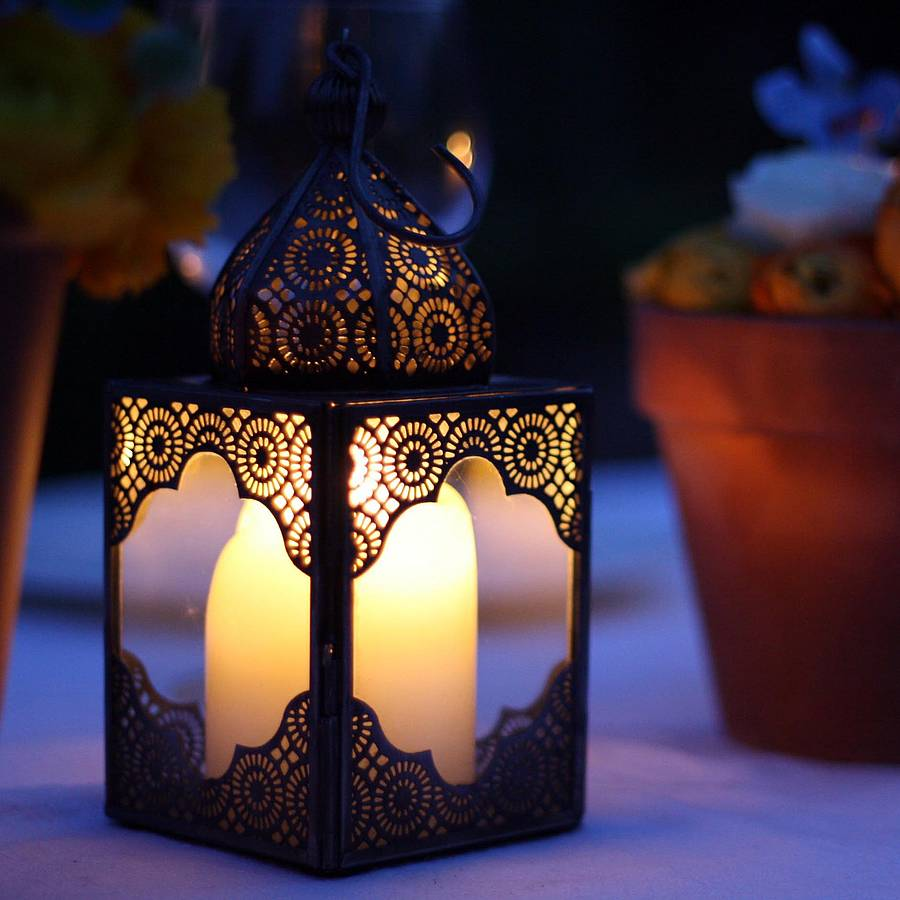 moroccan lantern by the wedding of my dreams  notonthehighstreet.com