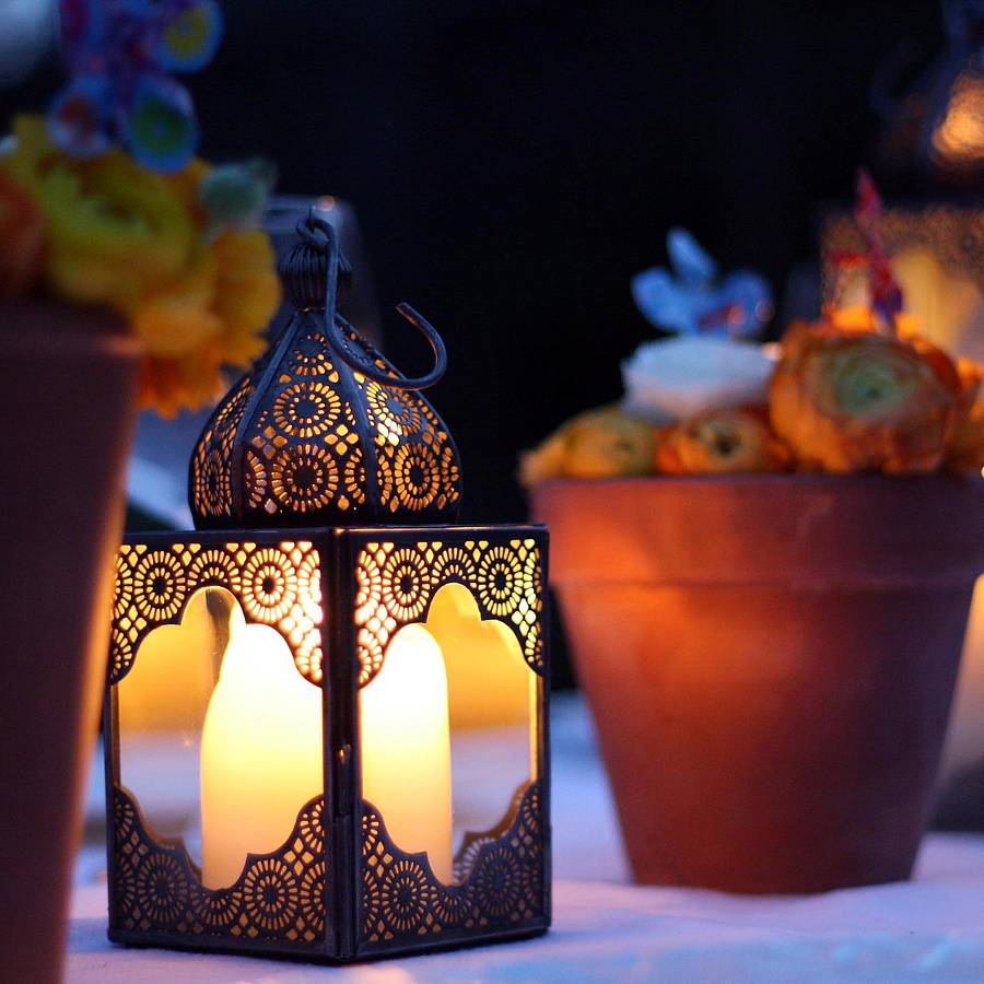 Moroccan Lantern By The Wedding Of My Dreams ...