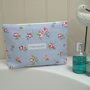 Personalised Washbag - make-up & wash bags