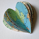 Map Heart Book Example