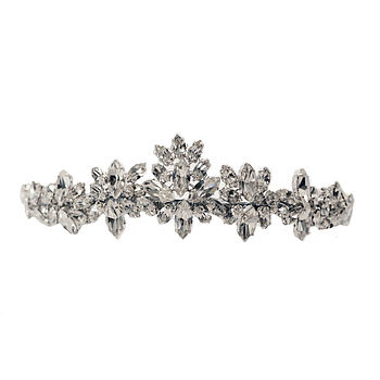 Jaynee Diamante Peak Tiara
