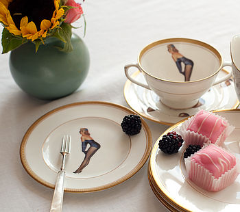 Pinup Bone China Side Plate