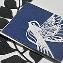 British Wildlife Card - Bird Navy