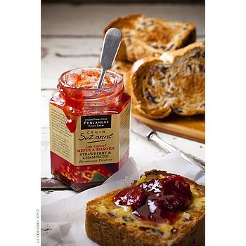 Award-Winning Strawberry & Champagne Preserve