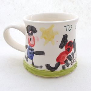 Paint Your Own Handmade Mug