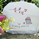 Personalised Berry Tea Cosy