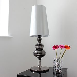 Polished Table Lamp